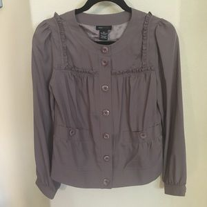 BCBG MAXAZRIA Taupe Top Size Xsmall